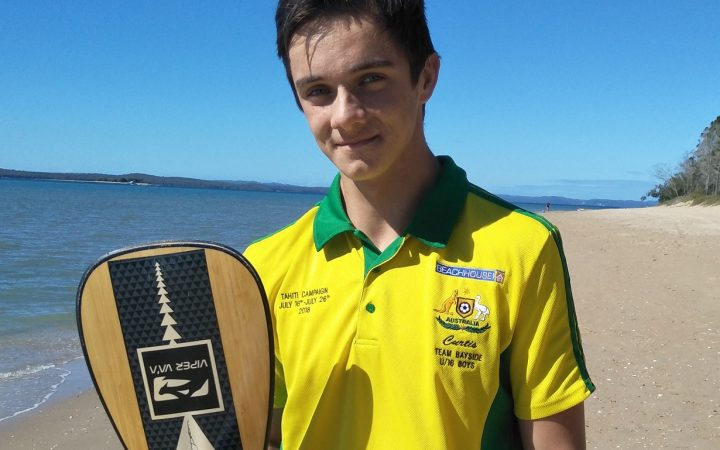 Carinity Education Glendyne Student on excusion to beach