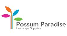 Plants plus Possum Paradise sponsor logo