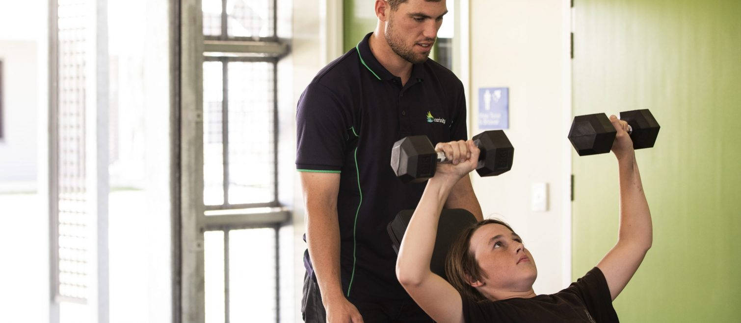 gym lifting