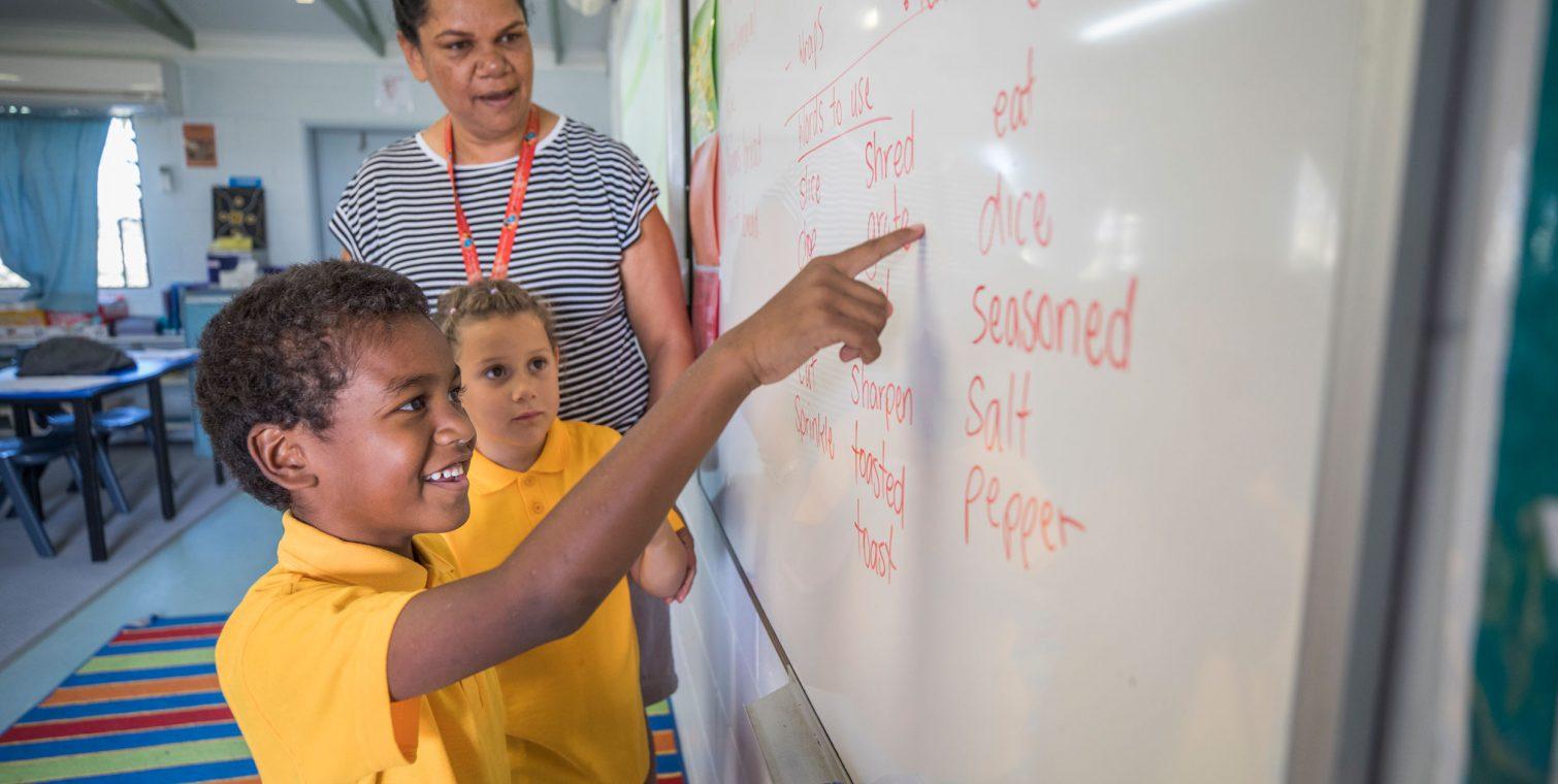 Carinity Education Shalom whiteboard