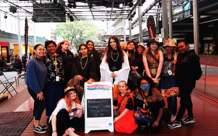 Recycled Clothing Fashion Parade